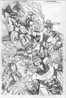 Legion 12 cover pencils by Cinar