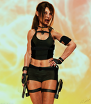 Tomb Raider Underworld Lara by ArtiMuller