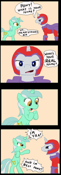 My name is Lyra by tifu