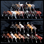 Breyer - Classic Frolicking Foal Conga by The-Toy-Chest