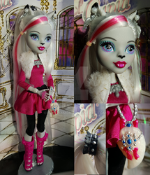 Monster High Custom Aurora Foxley by Sakuyamon