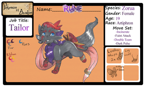 -Rune- PoA application (No longer in use) by FloofAngel
