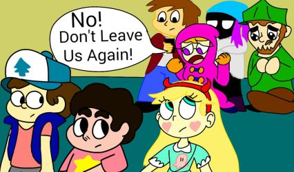 The Ever Evil Hiatuses, and the Comical Reviewers by the-slinky-kid
