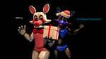 Toyfoxy and ToyCyan by Thunderbolt8361
