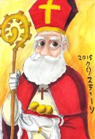 Saint Nicholas by Madame-Kikue