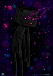 Minecraft- The Enderman by jenny-theanimator