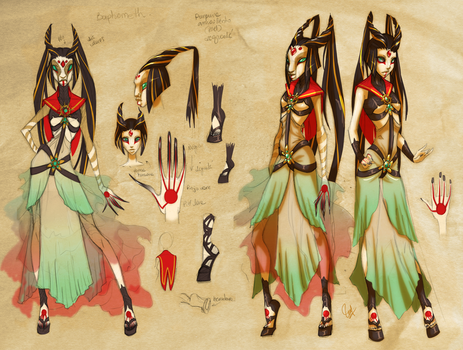 Sailor Chaos Concept II by LadyBrot