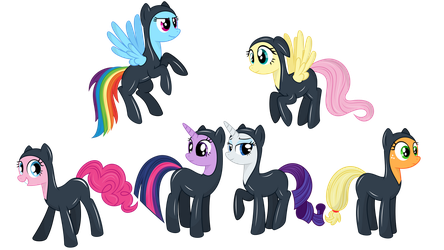 M6 Everfree wo background by alexiy777
