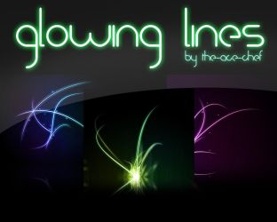 Glowing Lines Pack by the-ace-chef