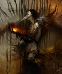 Demon by AlMuse