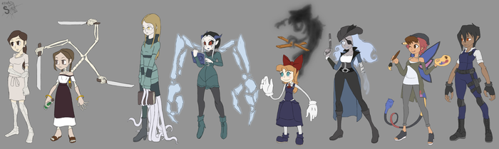 MA- Skullgirls Style by athorment