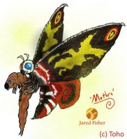 Go G: Mothra by Vagrant-Verse