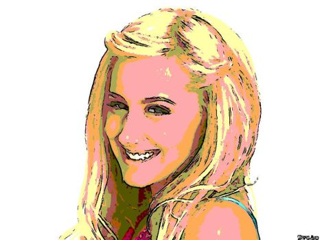 Ashley Tisdale by Cassie1264