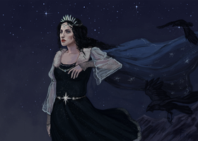 Varda/Queen of the stars by Folkwe