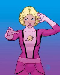 Saturn Girl by craigcermak