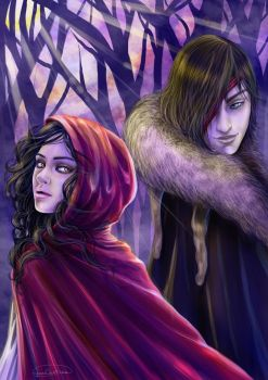 Little Red Riding Hood by CristianaLeone