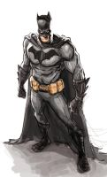 Batmanscketchcolor72 by galindoart