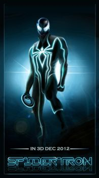 Spiderman Tron by Goshadude89
