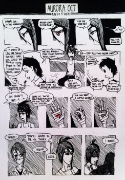 aOCT: Audition 3 by scribblesigEe