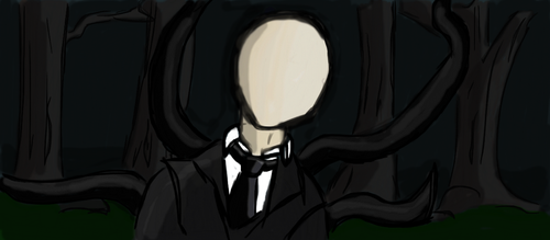 Slenderman Muro by xeno-scorpion-alien