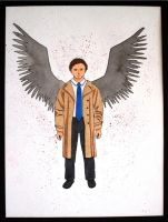 Castiel by shadowwolfox