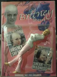 Britney Spears shaved head toy by spectrestudios