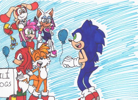 Happy Birthday Sonic! by Piplup88908