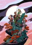 Lumberjanes Beyond Bay Leaf variant cover by evelmiina