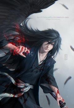 MADARA_Demon of war by Zetsuai89