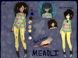 [Creepypasta oc] Meadli by HondausMina