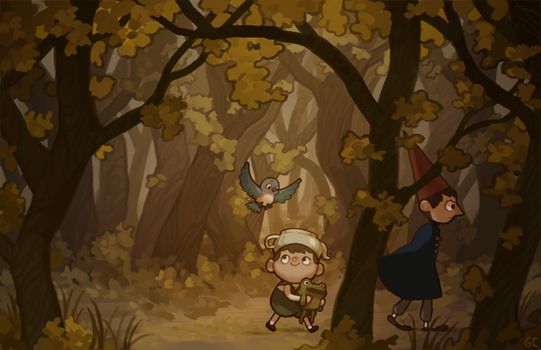 over the garden wall by genicecream
