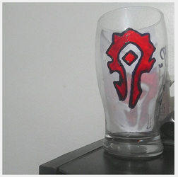 Horde Glass Symbol, World of Warcraft by guly09