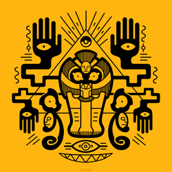 The Golden Tomb (T-Shirt) by Versiris