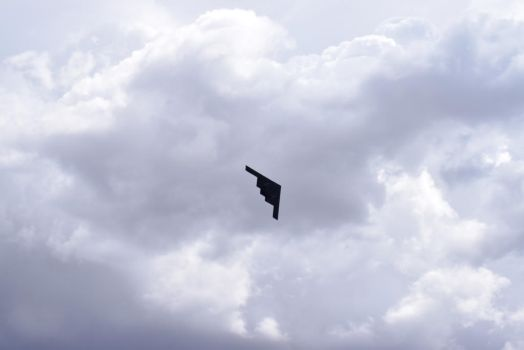 B-2 Bomber Above by RozenGT