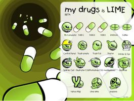 MY DRUG is LIME beta by wasted-hopeless