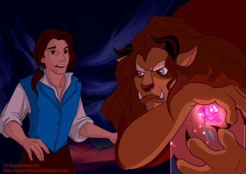 Disney genderbend - Beauty and the Beast by DragonsTrace