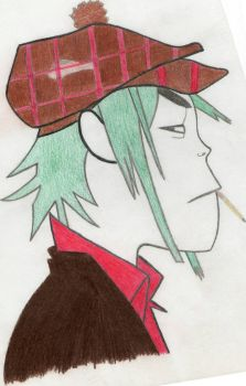 2D 'The Gorillaz' by Zebbiddee