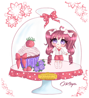 Strawberry Cupcake {CLOSED} by OKtiger