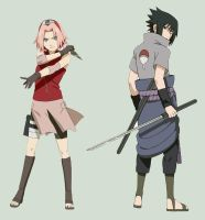 SasuSaku by kushiminalove4ever