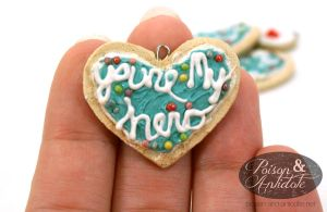 You're My Hero Pendants Close-up by chat-noir