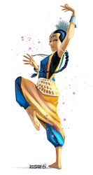 Character Design Challenge - Indian Dancer by tonton-jojo