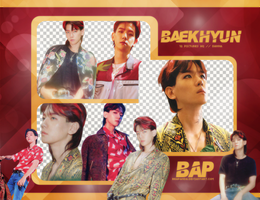 Pack Png #679 // Baekhyun (EXO) (THE WAR) by BEAPANDA