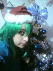 Merry Christmas by Gumi Megpoid by AliceTheCrazy