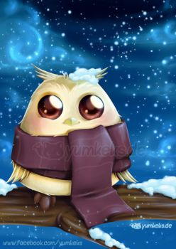 Winter Owl by yumkeks