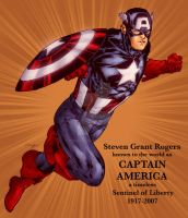 Captain America by SpiderGuile by StephenSchaffer