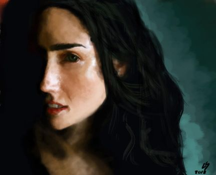Jennifer Connelly by Lu-Sc92