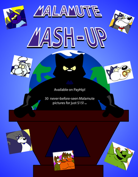 The Malamute Mash-Up Picture Pack by Imagine23