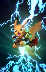 Pika-Thor by vest