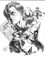 Nightwing Commission from 2000 by LostonWallace