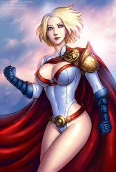 Power Girl (SFW) by Candra